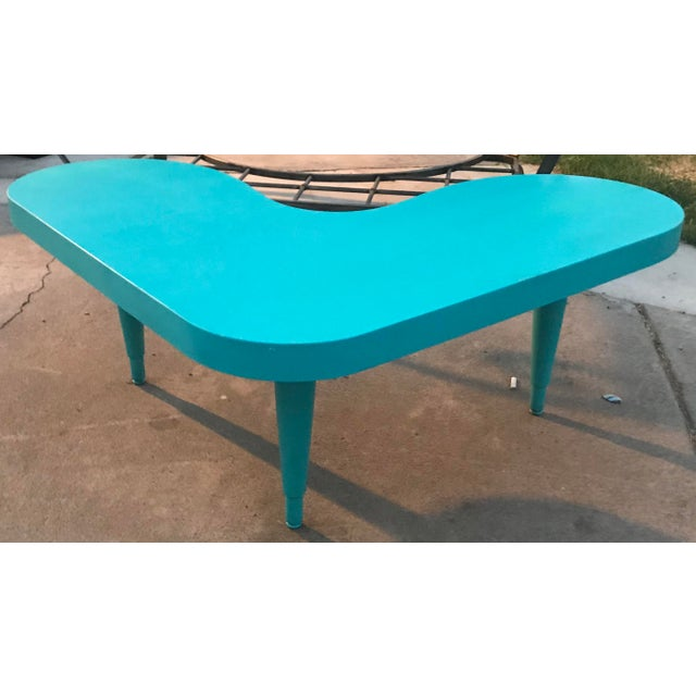 Vintage Boomerang Table For Sale - Image 4 of 5