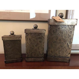 Mediterranean Style Uttermost Decorative Boxes - Set of 3 Preview
