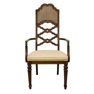 Lane Furniture Spanish Revival Dining Armchair For Sale