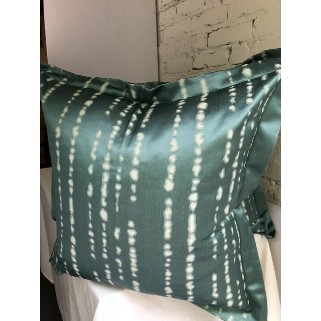 """Pair of 24"""" Jim Thompson Pillows For Sale In Atlanta - Image 6 of 11"""