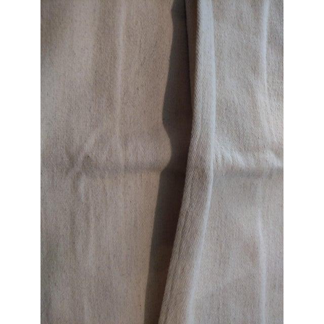 Costa Verde Handwoven Wool Pillow Floor Cushion - Image 4 of 4