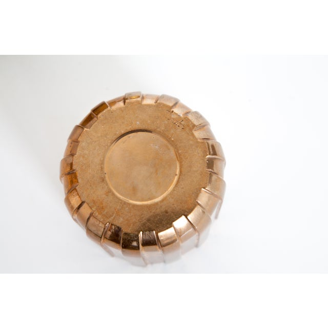 """Cylinda-Line Brass Ashtray by Arne Jacobsen X Stelton With Brass """"Vendor"""" Vase For Sale In New York - Image 6 of 8"""