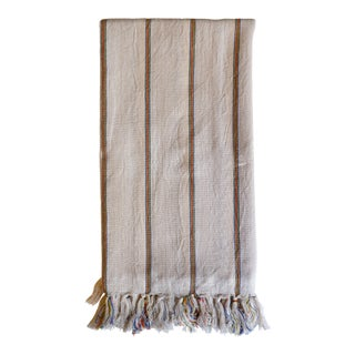 Turkish Hand Made Towel With Natural/Organic Cotton and Fast Drying,39x79 Inches For Sale