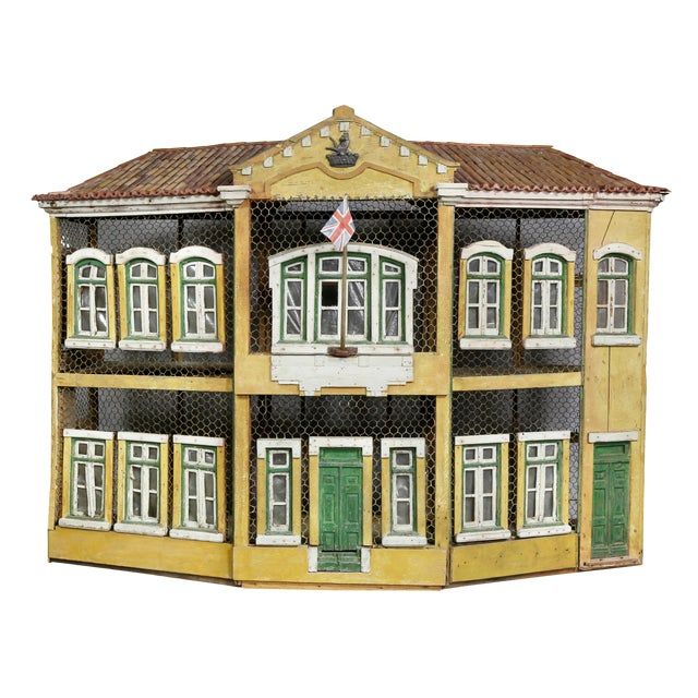 Early Victorian Painted Birdcage For Sale