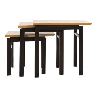 Set of Three Edward Wormley for Dunbar Nesting Tables