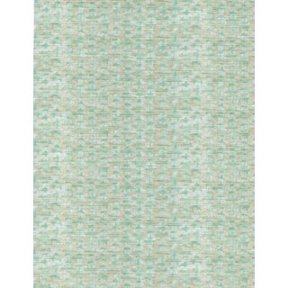 Ferran Ming Fret Fabric, 2 Yards, Ecru in Belgian Linen For Sale