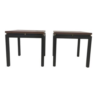 Michael Taylor/ Baker Funiture Side Tables, a Pair For Sale