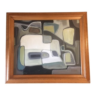 Original Stewart Ross Abstract Painting