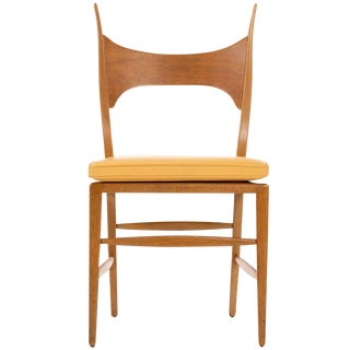1950s Vintage Edward Wormley Model 5580 Side Chair For Sale