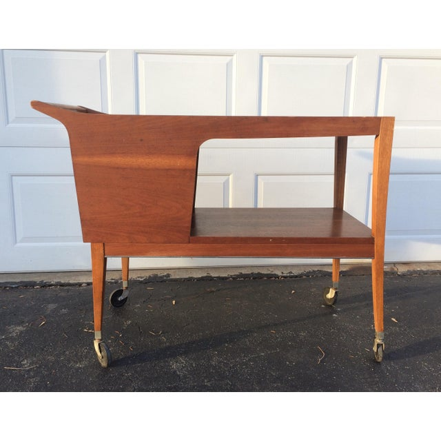 Mid-Century Modern Bar Cart - Image 3 of 9