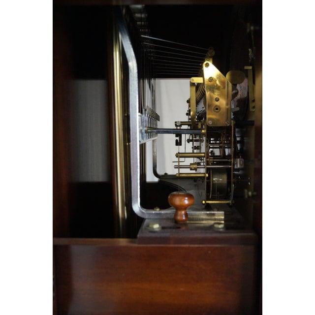 Charles Sligh Mahogany Inlaid 9 Tube Grandfather Clock For Sale In Philadelphia - Image 6 of 10