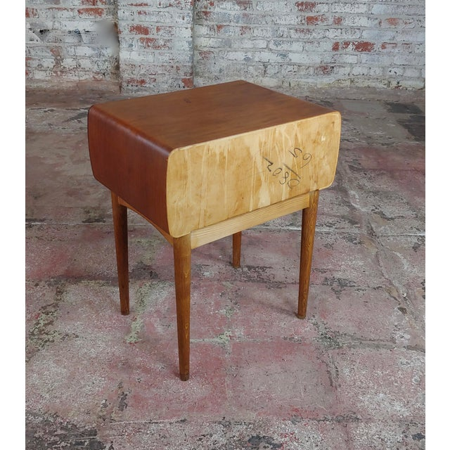 Johannes Andersen-Two Drawer Teak Bedside Tables-Mid Century Danish-A Pair For Sale - Image 9 of 10