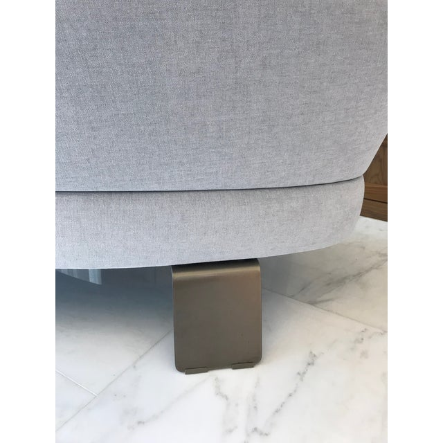 Creed Curved Lounge Sofa Designed by Minotti For Sale - Image 10 of 13