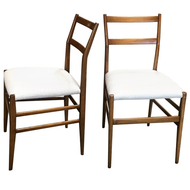 1950s Gio Ponti Superleggera Dining Chairs - a Pair For Sale - Image 9 of 9