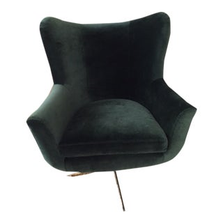 Modern Anthropologie Swivel Chair For Sale