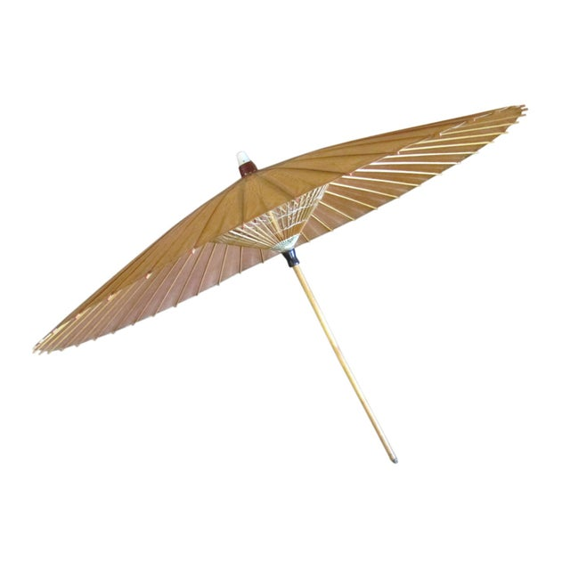 Antique Chinese Parasol For Sale - Image 5 of 5