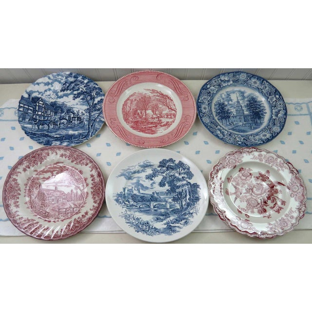 Mismatched Ironstone China Set, Service for 6 For Sale - Image 5 of 11