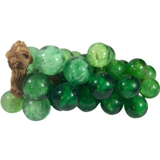 Mid-Century Green Acrylic Grapes For Sale