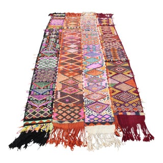 Tribal Anatolian Vintage Turkish Cicim Kilim - 9'11'' x 5'3''