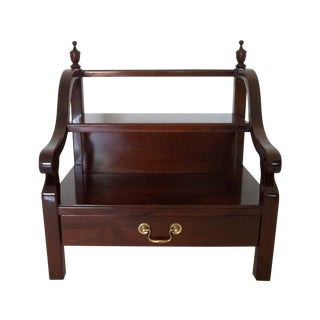 """Wellington Hall"" Desk Organiser Honduran Mahogany For Sale"