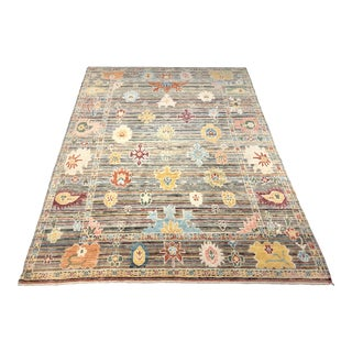 "Bellwether Rugs ""Delilah"" Colorful Oushak Rug - 9′1″ × 12′ For Sale"