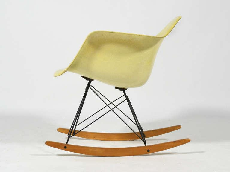 Eames Zenith Rope Edge RAR Rocker By Herman Miller   Image 6 Of 10