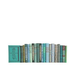 Vintage Cornflower & Mint : Set of Twenty Decorative Books