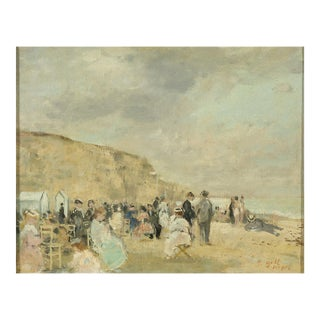 La Plage, Dieppe By François Gall