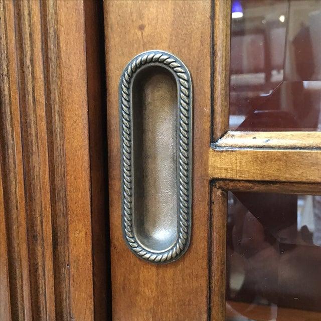 Henley Cherry Sliding Door Book Case - Image 8 of 11
