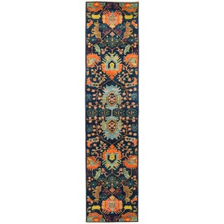 """Sibalou, Eclectic Area Rug - 2' 8"""" X 11' 9"""" For Sale"""