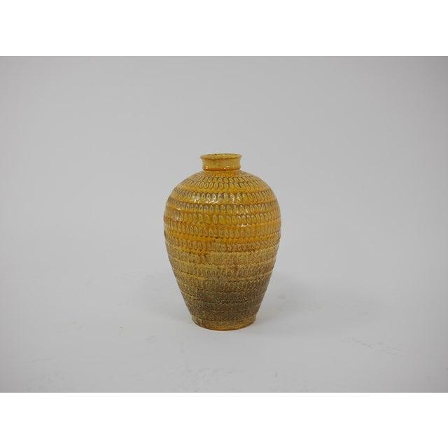 Ceramic Large Floor Vase by Svend Hammershøi for Herman a Kahler Keramik For Sale - Image 7 of 8