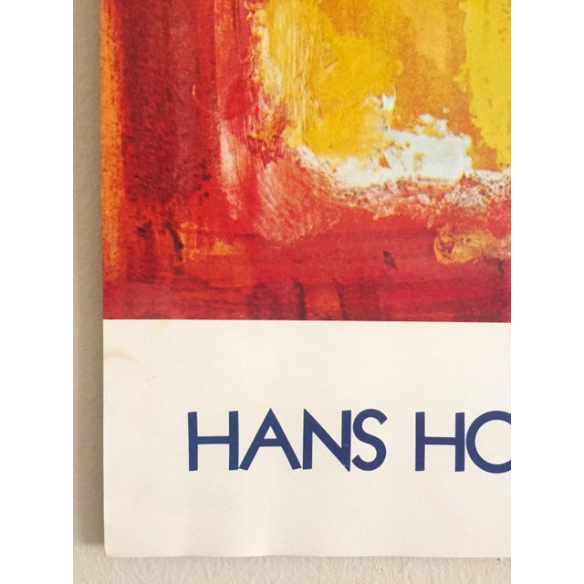 Lithograph Hans Hofmann Vintage 1974 Abstract Expressionist Lithograph Print Exhibition Poster For Sale - Image 7 of 9