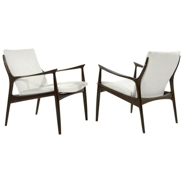 Lounge Chairs by Ib Kofod-Larsen For Sale - Image 13 of 13