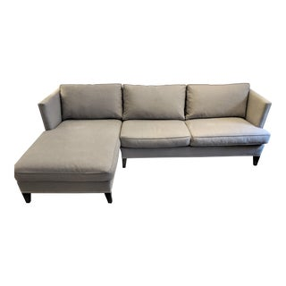 Williams Sonoma Hyde Chaise Sectional Sofa