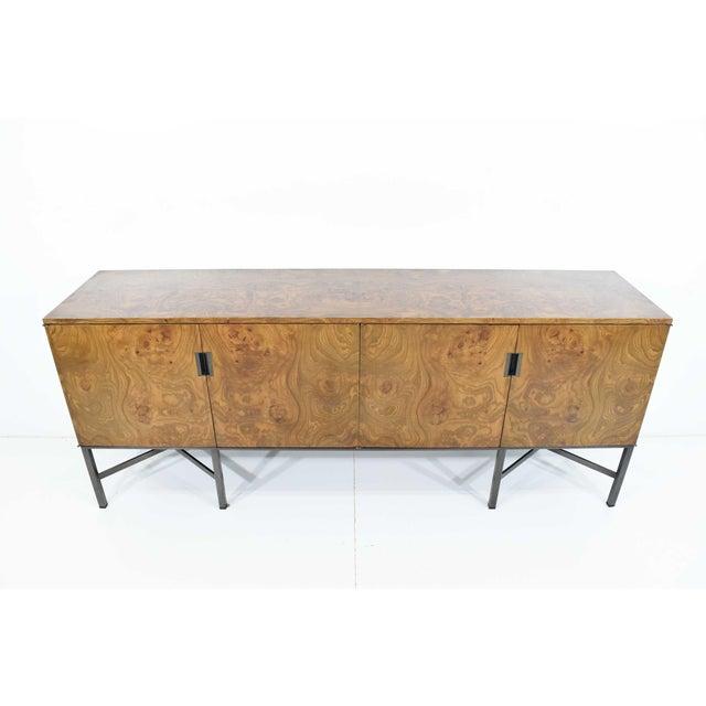 Dunbar Furniture Roger Sprunger for Dunbar Burled Olivewood Sideboard or Credenza For Sale - Image 4 of 13