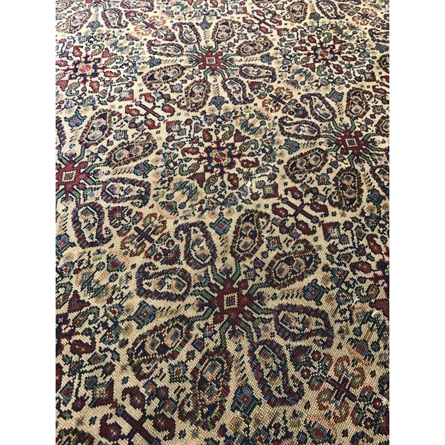 Islamic Antique Persian Tabriz Carpet For Sale - Image 3 of 3