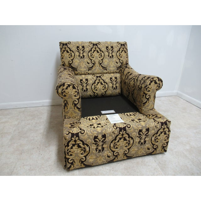 1990s 1990s Vintage Custom Tomlinson Ervin Lambeth Club Lounge Chair For Sale - Image 5 of 11