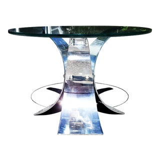 A Mid-Century Modern - Space Age Side Table For Sale