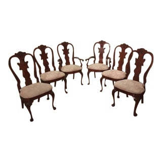 American Drew Cherry Grove Splat Back Dining Chairs - Set of 6