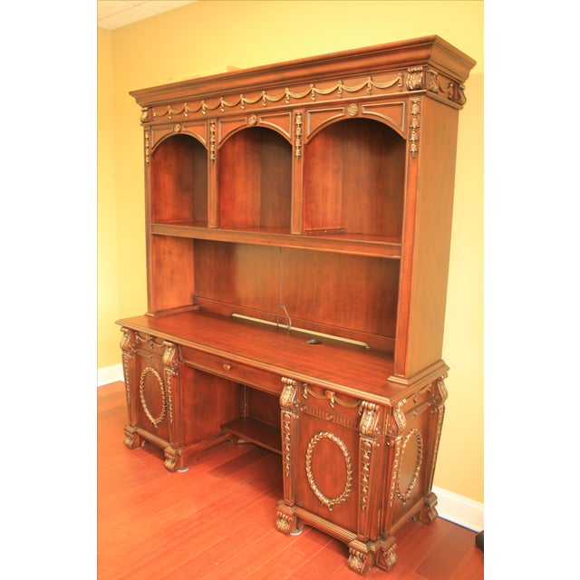 Buckingham Office Collection Credenza & Hutch - Image 3 of 5