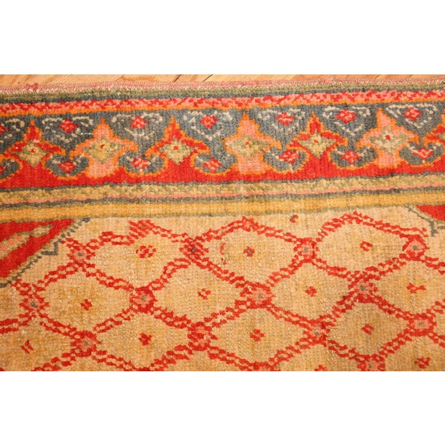 Antique Arts and Crafts Turkish Oushak Runner Rug - 2′10″ × 26′ For Sale In New York - Image 6 of 10