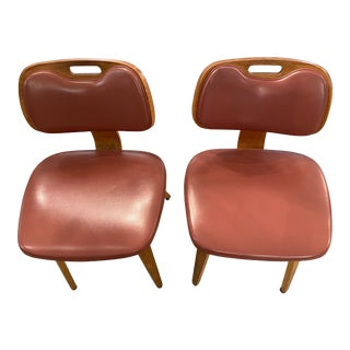 1950s Thonet Bentwood Side Chairs - a Pair For Sale