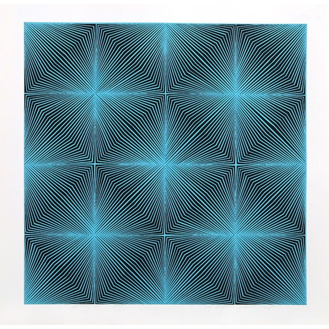 Artist: Roy Ahlgren, American (1927 - 2011). Title: Galaxy III. Year: 1969. Medium: Serigraph, signed and numbered in...