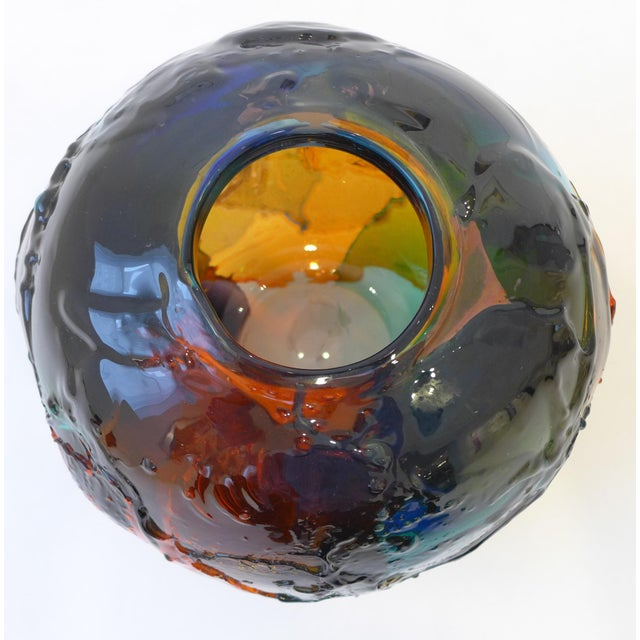 """Geacolor"" Glass Vase by Gae Aulenti for Venini For Sale In New York - Image 6 of 8"