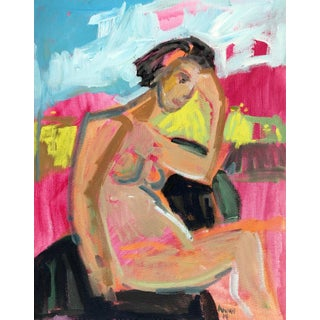 Island Figure IV Painting by Anne Darby Parker For Sale