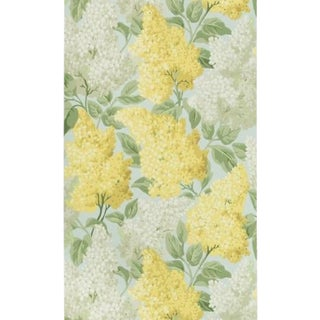 Cole & Son Lilac Wallpaper Roll - Lemon/Olive/Prm Blue For Sale