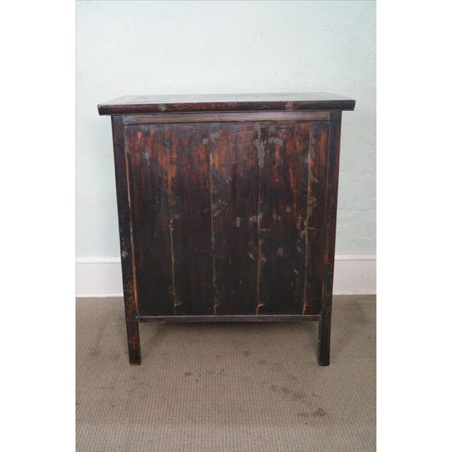 Rustic Chinese Console with Drawers - Image 4 of 10