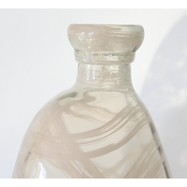 Oversize Modern Art Glass Demijohn - Image 4 of 6