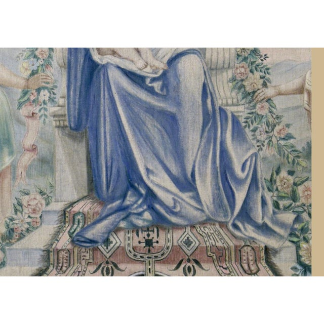 Textile Antique Italian Sucre De Herb Tapestry For Sale - Image 7 of 9