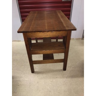 1940s Mission Stickley Wooden Writing Desk Preview